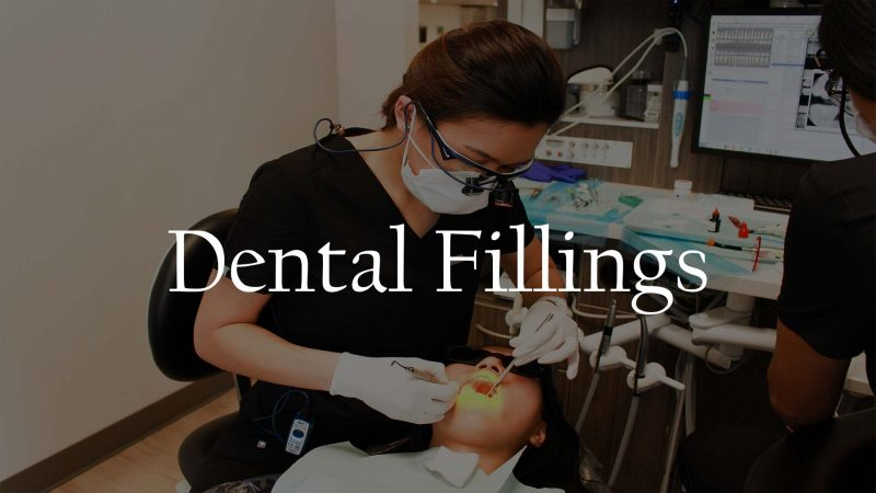 Dental Cavity Tooth Filling Service Houston